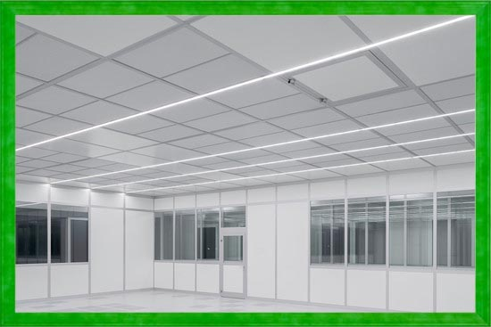 Cleen Room ceilings